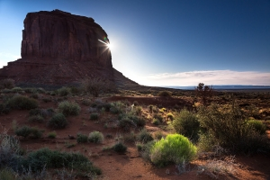 Monument Valley Sonnenaufgang (1)