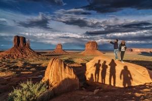 Monument Valley Sonnenuntergang (3)
