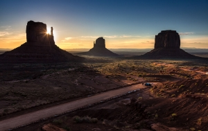 Monument Valley Sonnenaufgang (8)