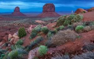 Monument Valley Sonnenuntergang (8)