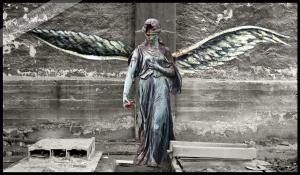 der Bronze-Engel von Rüdersdorf