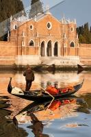San Michele mit Gondel