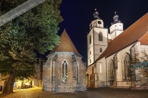 Wittenberg Sankt Marien mit Erlöserkirche