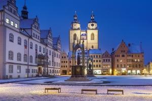 Markt mit Sankt Marien Wittenberg 2017