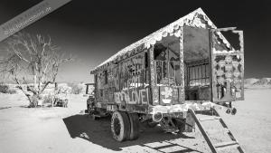 Salvation Mountain, Bible John's Caravan.jpg